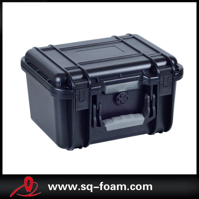 plastic injection made hot wholesale waterproof custom case with CNC Carving sponge<br>