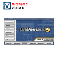 Free Shipping New auto software Mitchell 2014 Mitchell ondemand Mitchell OnDemand 5 Q1 2014 with 320G hdd