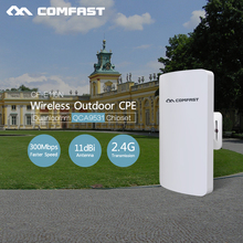 2017 New ~ COMFAST CF-E110N 300mbps Outdoor siganl booster/amplifier 2.4Ghz High Gain Wifi Receiver WiFi Bridge Access Point(China)