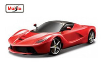 Maisto Bburago 1:24 Racing Race Red Diecast Model Car Toy New In Box Free Shipping