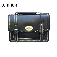 British Style Vintage Briefcase Women Bag Lady Shoulder Bags Retro Postman Hand Bag Mori Girl Handbags Satchels(China)