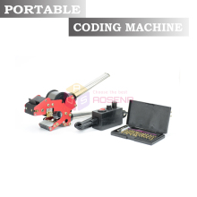 110V/220V Portable Coder Manual Ribbon Code Printer Handheld Hot Stamping Coding Tool Printing Machine