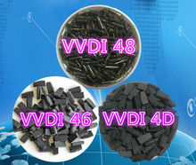High quality Original VVDI46/VVDI48/VVDI4D-4C universal copy type transponder chip 50PCS/LOT(China)