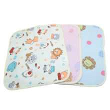 Baby Cotton Mattress Cartoon Thickened Health Waterproof Urine Pad Little Kid Soft Waterproof Mattress Baby Care Products(China)