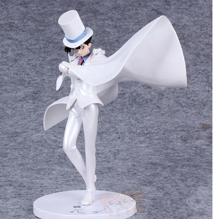 Detective Conan Action Figure Kaito Kid PVC 230mm Anime Action Figure Detective Conan<br><br>Aliexpress