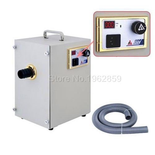 Dental lab Equipment Single-Row Digital Dust Collector Artificer Room Vacuum Cleaner 370W for Dental Laboratory, Industry(China)