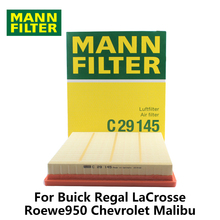 MANN FILTER Car Air Filter For Buick Regal LaCrosse Roewe 950 Chevrolet Malibu C29145 auto part(China)