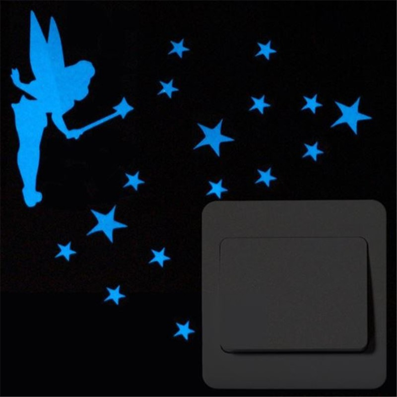 Luminous Stickers Sleepy Cat/Star Moon Glow in the Dark DIY Switch Sticker Luminous Stickers Sleepy Cat/Star Moon Glow in the Dark DIY Switch Sticker HTB1puq8c9tYBeNjSspkq6zU8VXag