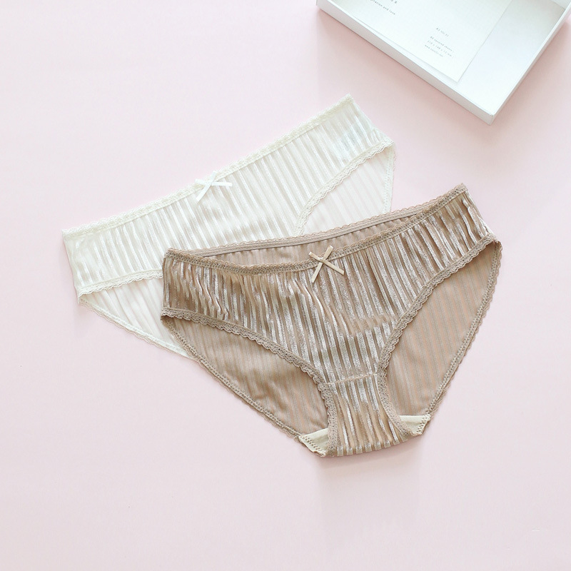 Women Bow Panties 2018 New Comfortable Briefs Women Sexy Lace Solid Color Velvet Breathable Girl Underwear Women High Quality