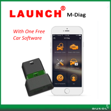 With One Free Car Software !!! Launch X431 M Diag OBD2 Diagnostic Tool M-Diag For Android & IOS with free shipping