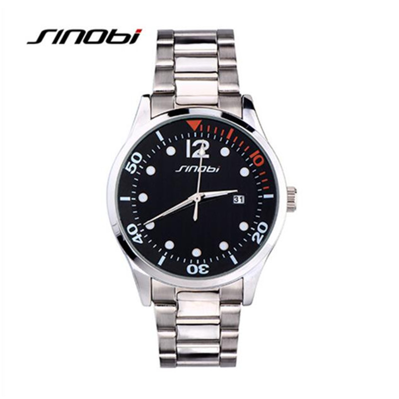 Watches Men Luxury Brand Business Watch Quartz Sports Men Full Steel Wristwatches Dive 30m Casual Date Clock relogio masculino<br><br>Aliexpress