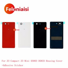 High Quality Sony Xperia Z3 Compact Z3 Mini D5803 D5833 Housing Battery Cover Door Rear Cover Chassis Frame Back Cover