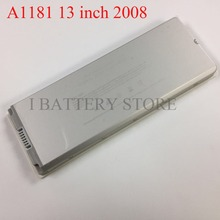 New A1181 2008 13'' battery for macbook pro A1185 battery