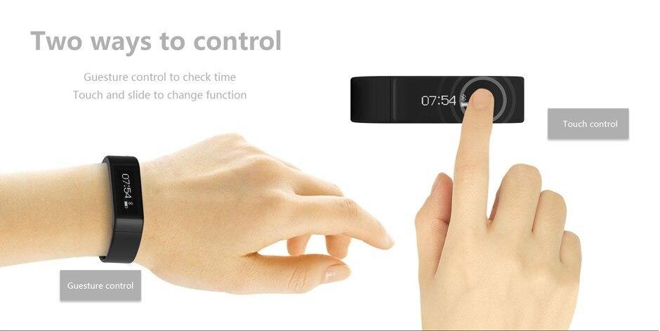 Original iwown I5 Plus Smart Bracelet Bluetooth Activity Wristband Fitness Sleep Tracker Reminder Passmeter Sports Watch 4