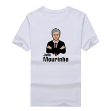 2017 Men Portugal Coach Jose Mourinho T-shirt Tees Short Sleeve T SHIRT Men's Fashion Madman W1108010