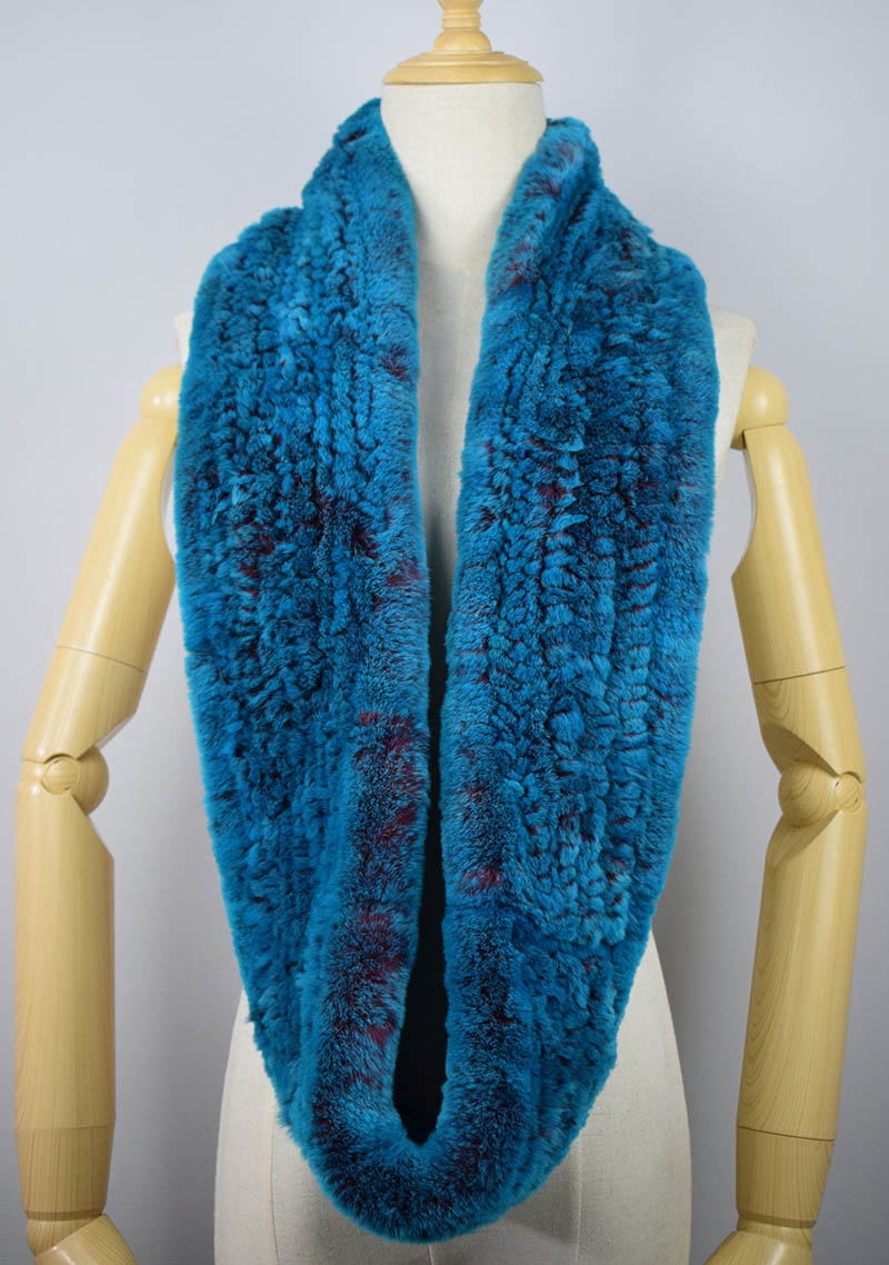 rex rabbit fur scarf 6