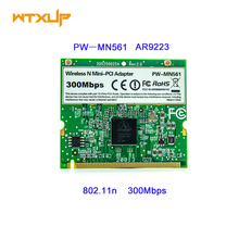 Atheros AR9223 300Mbps Mini PCI Wireless N WiFi Adapter PW-MN521 Mini-PCI WLAN Card for Acer Asus Dell Toshiba