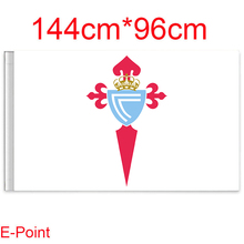 144cm*96cm size (La Liga) Real Club Celta de Vigo, S.A.D Flying flag C(China)