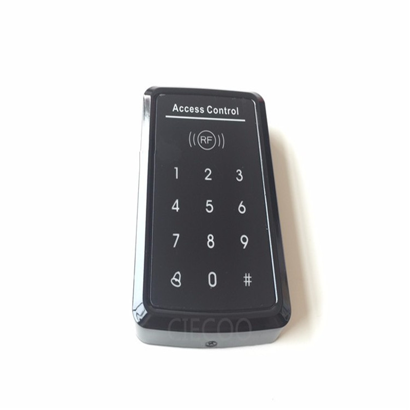 RFID 125KHZ card  Standalone access touch screen  keypad for security door access office &amp; warehouse &amp; home  with  10 ID cards<br><br>Aliexpress