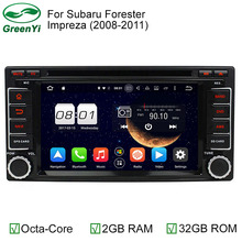 2G RAM Octa Core Android 6.0 Auto PC Android 6.0.1 Car DVD Player For Subaru Forester Impreza 2008 2009 2010 2011 Stereo Radio