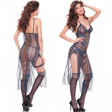 women lingerie super quality fancy stylish hot long sexy lingerie for adults erotic fantasy lace dress