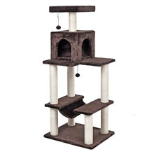 Domestic Delivery H141 Cat Toy Scratching Wood Climbing Tree Cat Scratching Post Jumping Toy Ladder Climbing Frame Cat Furniture