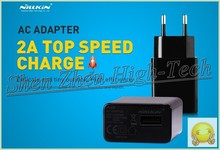 Original Nillkin Charger 5V 2A Top Speed Charger AC 2A EU Europe Standard USB Plug Power Wall Charger For Cell Phone USB Charger