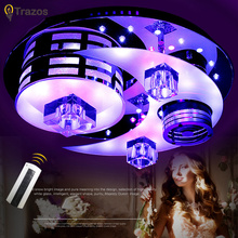 NEW Modern LED Ceiling Light Remote Group Controlled Color patented product Changing led ceiling Lamp For Living room Bedroom