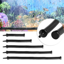Rubber Coated Flexible Air Pump Stone Curtain Bubble Wall Tube Hose line Pipe Diffuser Aerator Aquarium Plant Tank Accessory