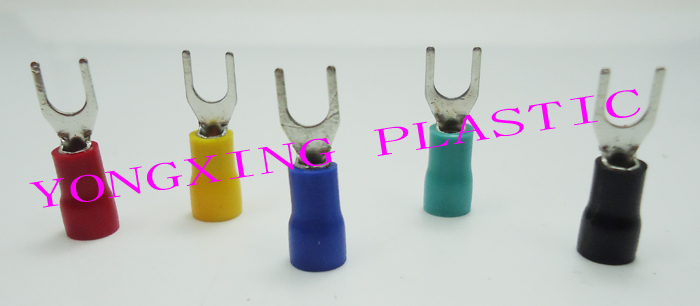 250pcs/lot SV2-10 insulated terminal block 16-14AWG 1.5-2.5mm2 cable red yellow blue green black five color mixed<br>