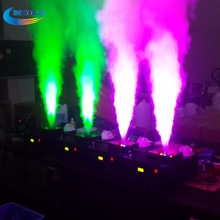 New Product 1500w LED Vertical Smoke Fog Machine with 24PCS 3 IN 1 RGB Led stage Fog Machine Control