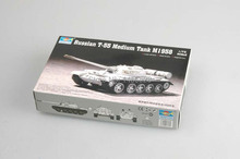 TRUMPETER  07282   1/72  Russian T-55 Medium Tank M1958  Assembly Model kits scale model  3D puzzle vehicle model