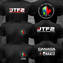 Canada Elite Special Operations Force T shirt men two sides JTF2 Joint Task Force 2 gift casual tee shirt USA size S-3XL