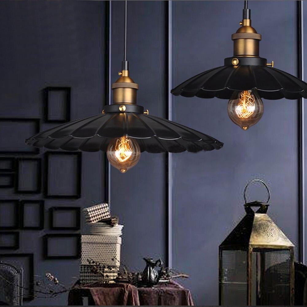 designer umbrella style lighting brass and iron lamps luminaires suspension<br>