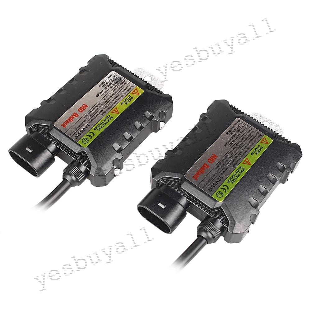 2 PCS 12V 55W Slim HID Digital DC Ballast Xenon Kit Replacement for Headlight Universal H1 H3 H4 H7 H11 HB4 HB5 9005 800 <br><br>Aliexpress