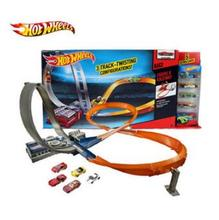 Hot Wheels Raceway track Plastic Metal Mini Cars Railway brinquedo Educational Hotwheels Cars Toys For kids Free Shipping
