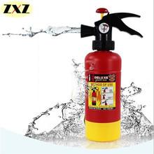HOT!! Kids Cute Outdoor Super Fire Pressure Squirt Amusing Fire Extinguisher Toy Children Summer Beach Gaming Water Gun