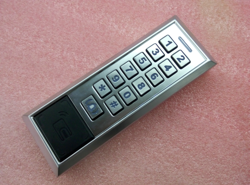 Metal Case Keyboard 8000 User Sigle Door Access Control System <br>