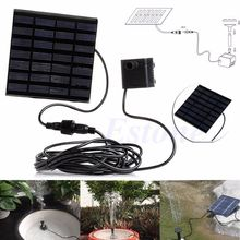 Solar Power Water Pump Panel Kit Garden Fountain Pool Pond Submersible Watering(China)