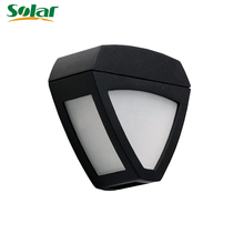 Mini Solar Light 2 LED Bulbs Waterproof Wireless Dim Decorative Lights Lamp Lighting for Outdoor Garden Fence Wall Porch Step