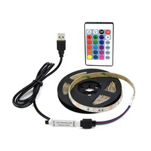 Multi-colour Flexible 2835 RGB 5V USB LED Strip Light+ Remote Controller TV Backlights Computer Case Lamp IP20/IP65 Waterproof