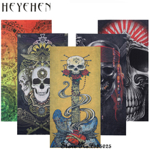 Fashion New Design Skull  Bandana Scarf Motorcycle Dustproof Multifunctional Seamless Tubular Hip-hop Headband  HY19