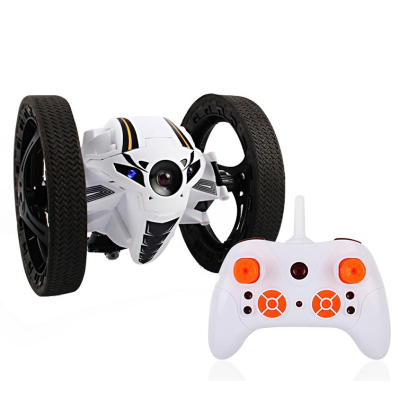 RC Bounce Car toy educational toy RH803 Mini Jumping sumo car Robot Jumping Car with LED Night Light RC Robot Car kid best gift