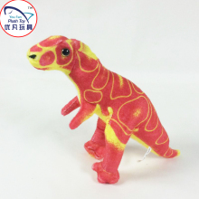 2016 Toys stuffed dinosaur plush animal mini soft toy dinosaur toy for kids red color