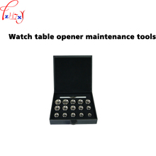 Watch back case opener reomoval tools set 15pcs professional watch table opener maintenance tools 1 set