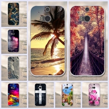 3D Painted Case For HTC One M8 M8s Case For HTC M8/M8S Cell Phone Cases Soft Tpu Cover For HTC One M8/ M 8 S /M 8 Silicone Funda