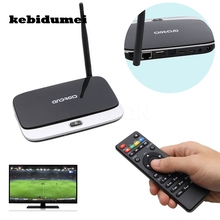 kebidumei 2017 EU / US / UK Plug CS918 4 Core Smart TV Box receiver 2G+16G 1080P WiFi Mini PC Fully Loaded for Android 4.4(China)
