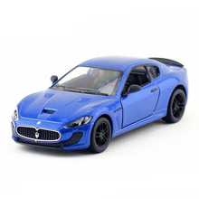 1:38 Kinsmart Die cast Model Car Toy, MC Stradale Cars Models For Collection, Dinky Toys For Children, Brinquedos Menino Vehicle