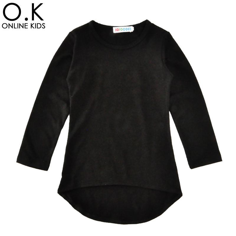 Baby Girl Dress Long Sleeve Fashion Irregular Toddler Girls Dresses For Kids Clothes 2017 Spring Autumn Black Children Costume <br><br>Aliexpress