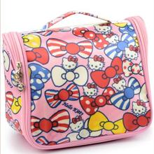 Cartoon Hello Kitty Home Bathroom Makeup Storage Bag Organizer Best For Travel Or Beach 5 Colors Option